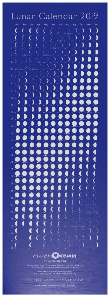 Lunar Cal 2019 digital