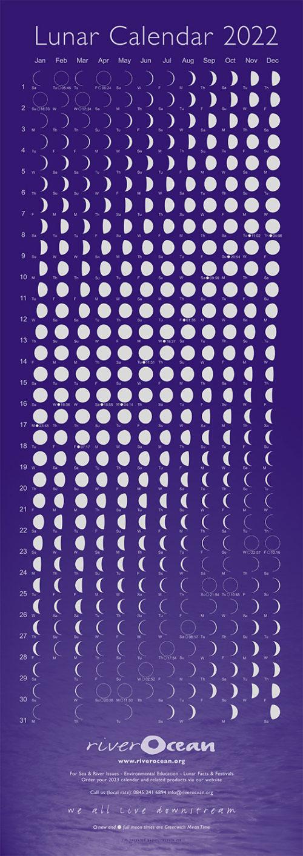 Lunar Calendar 2022