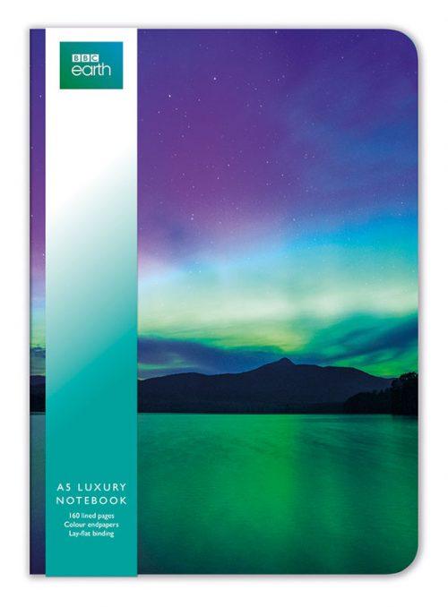 Northern Lights A5 Notebook