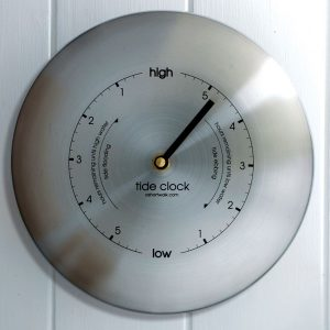 Tide Clock – Stainless Steel