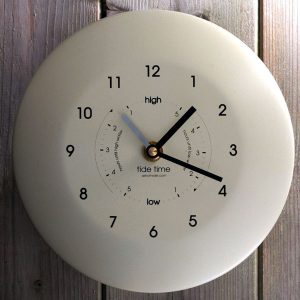 Time & Tide Clock – Powder Coated